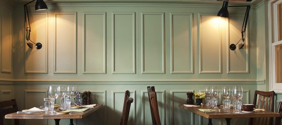 The gantry interior design for restaurants